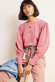 Anthropologie Shirley Textured Pullover