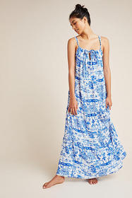 Anthropologie Anthropologie Jasmine Tiered Cover-U