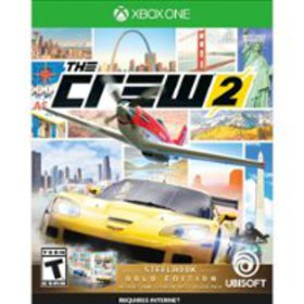 The Crew 2 Gold Edition SteelBook - Xbox One