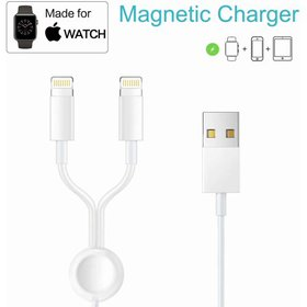 3 in 1 Charging Cable Wireless Charger Cord,Wirele