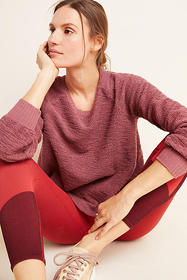 Anthropologie Luella Textured Pullover