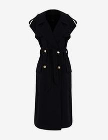 Armani SLEEVELESS TRENCH COAT