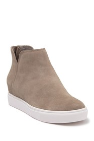 Steve Madden Claud Suede Wedge Sneaker