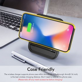 2 in 1 10W Folding Foldable Wireless Fast Charger