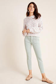 Anthropologie Pilcro High-Rise Skinny Corduroy Pan