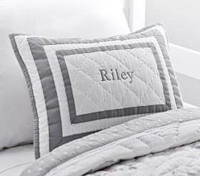 Pottery Barn Harper Quilted Decorative Shams