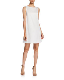Alice + Olivia LITA COWL BK SHIFT DRESS