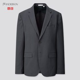 Men Tailored Jacket (Jw Anderson), Navy, Medium