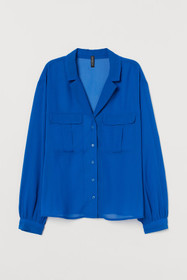 Airy Utility Blouse