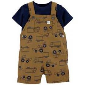 Baby Boy (NB-24M) Carter's® 2pc. Solid Tee & Truck