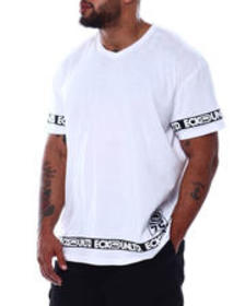 Ecko all taped up s/s v-neck (b&t)