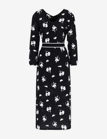 Armani LONG-SLEEVED MIDI DRESS