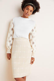 Anthropologie Windsor Knit Pencil Skirt