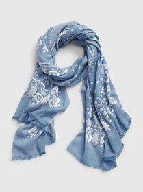 Printed Oblong Scarf