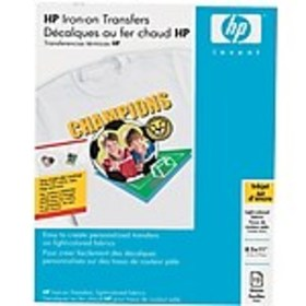 HP Matte Iron On Transfer Paper, 8.5 x 11, 12/Pack
