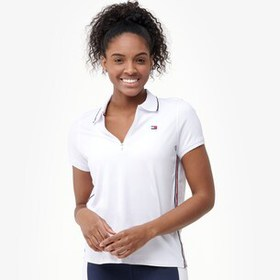 Tommy Hilfiger Short Sleeve Zip Front Polo