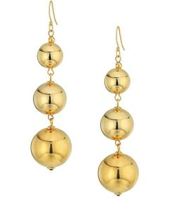 Kenneth Jay Lane Polished Gold 3 Small To Large Be