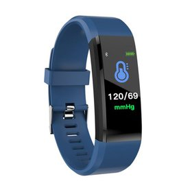 Waterproof Smart Bracelet Watch 115 Plus Blood Pre