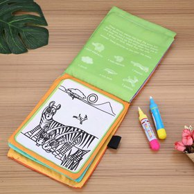 HERCHR Baby Kids Water Drawing Painting Cloth Book