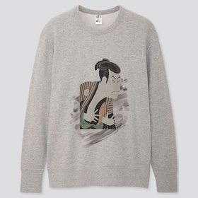 Edo Ukiyo-E Toshusai Sharaku Long-Sleeve Sweatshir