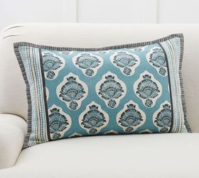 Pottery Barn Kaleigh Reversible Lumbar Pillow Cove