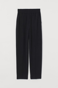 Tapered Wool-blend Dress Pants