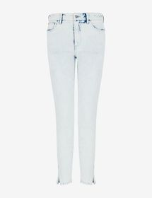 Armani J19 SUPER-SKINNY JEANS WITH SLIT CUFFS