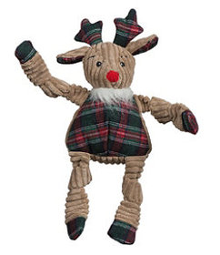LL Bean Holiday Knottie Reindeer Dog Toy