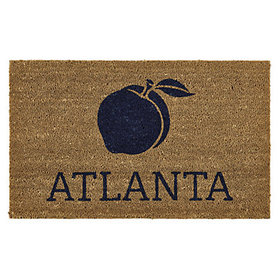 City/State Icon Coir Mats