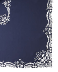 SFERRA Ellino 72 x 90 Tablecloth & 8 Napkins