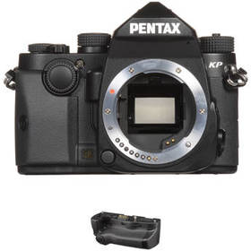 Pentax KP DSLR Camera Body with Battery Grip Kit (