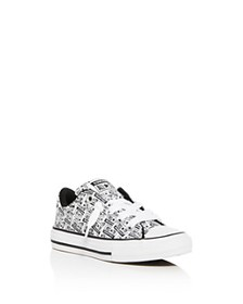 Converse - Boys' License Plate Low-Top Sneaker - T