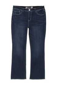 Seven7 High Rise Absolute Bootcut Jeans (Plus Size