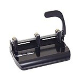 OfficeMate Adjustable Punch, 32 Sheet Capacity, Bl