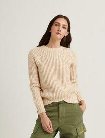 Lucky Brand Marled Crew Pullover Sweater