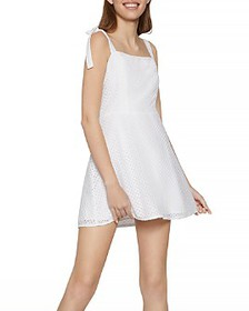 BCBGENERATION - Cotton Eyelet Skater Dress