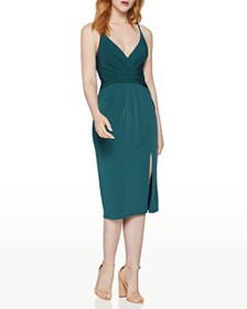 BCBGENERATION - Wrap-Front Cocktail Dress