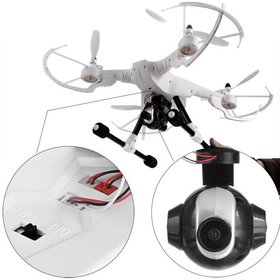 3MP Wide-angle Cameras Drone HD 4CH 2.4G 6-Role Gy