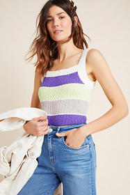 Anthropologie Maddie Sweater Tank