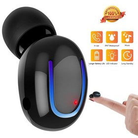 Mini Invisible Bluetooth Earbud,Stereo Wireless Bl