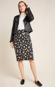 Anthropologie Delphine Sweater Pencil Skirt