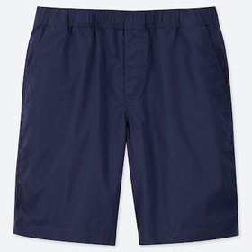 Men Dry Stretch Easy Shorts, Blue, Medium