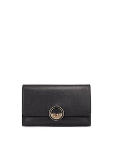 Versace Collection Small Saffiano Crossbody Bag Bl