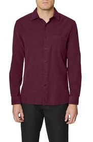 Hickey Freeman Baby Corduroy Regular Fit Shirt