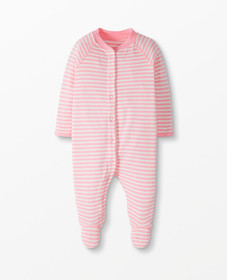 Hanna Andersson Footed Sleeper In Organic Cotton