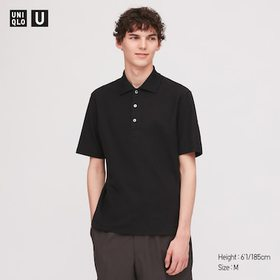 Men U Supima© Cotton Short-Sleeve Polo Shirt, Blac