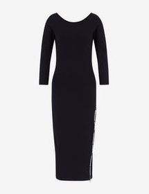Armani STRETCH COTTON MIDI DRESS