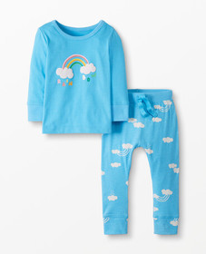 Hanna Andersson Play In, Play Out Tee + Pant Set