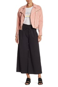 PAIGE Charisma Lace Up Wide Pants