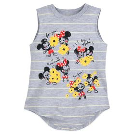 Disney Mickey and Minnie Mouse Striped Tank Top fo